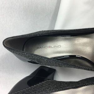 Bandolino Shoes - Bandolino Black Gray Tweed Heels Pumps 9 NWOT